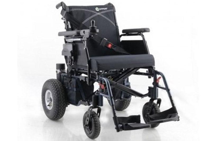 كرسي متحرك كهربائي قابل للطي